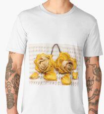Yellow Rose Duet Men's Premium T-Shirt