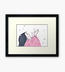 Princess Kaguya Framed Print
