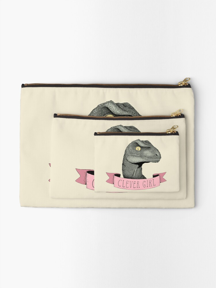 Alternate view of Clever Girl Zipper Pouch