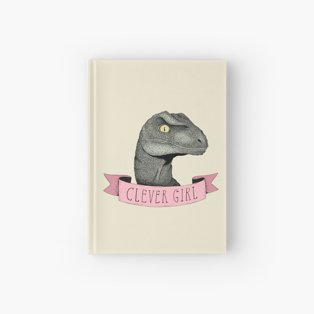 Clever Girl Hardcover Journal