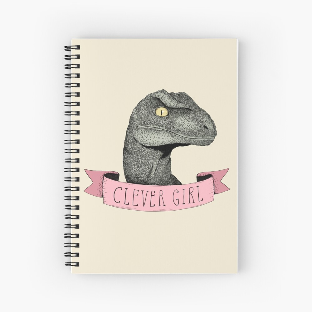 Clever Girl Spiral Notebook