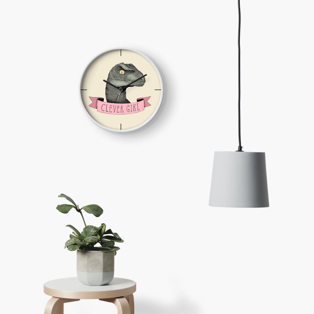 Clever Girl Clock