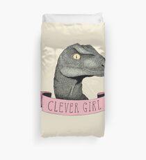 Clever Girl Duvet Cover