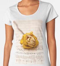 Yellow Rose Symphony Women's Premium T-Shirt