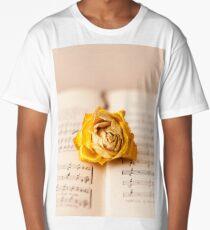 Yellow Rose Ballad Long T-Shirt