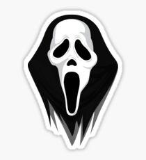 Ghostface - Scream Mask Sticker