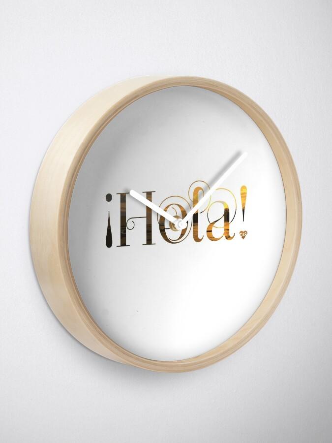 Alternate view of Hola! Clock