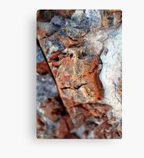 Chiseled Canvas Print