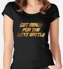 tekken - get ready Women's Fitted Scoop T-Shirt