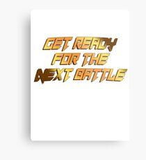 tekken - get ready Metal Print