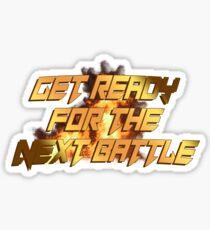 tekken - get ready for Sticker