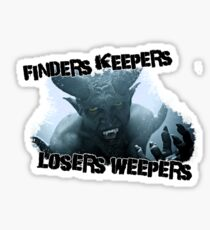 ENC; Finders Keepers Sticker