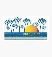 Beach Life 90 Photographic Print