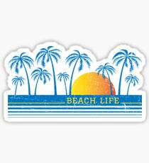 Beach Life 90 Sticker