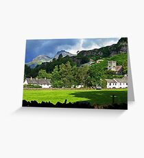 Chapel Stile - Under The Mountain Greeting Card