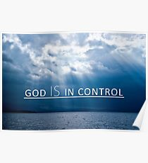 God Is In Control Poster