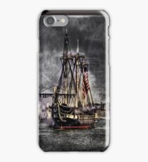 World's oldest commissioned warship afloat - USS CONSTITUTION iPhone Case/Skin