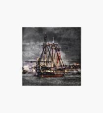 World's oldest commissioned warship afloat - USS CONSTITUTION Art Board