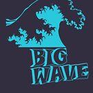 Big Wave Surf by HandDrawnTees