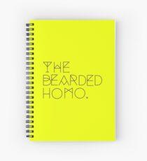 THEBEARDEDHOMO LOGO Spiral Notebook