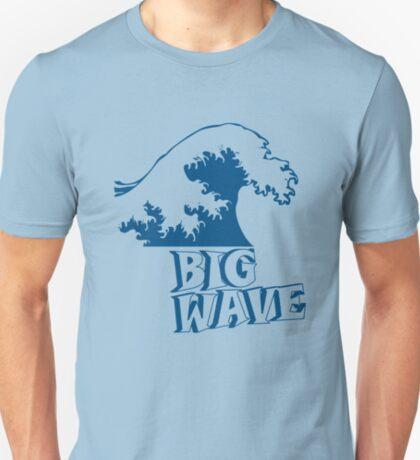 Big Wave Surf Dark T-Shirt