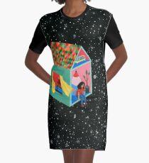 Float Graphic T-Shirt Dress