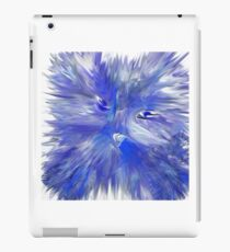 Feline Blue iPad Case/Skin