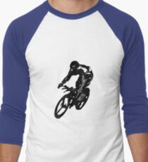 Time Trial Men's Baseball ¾ T-Shirt