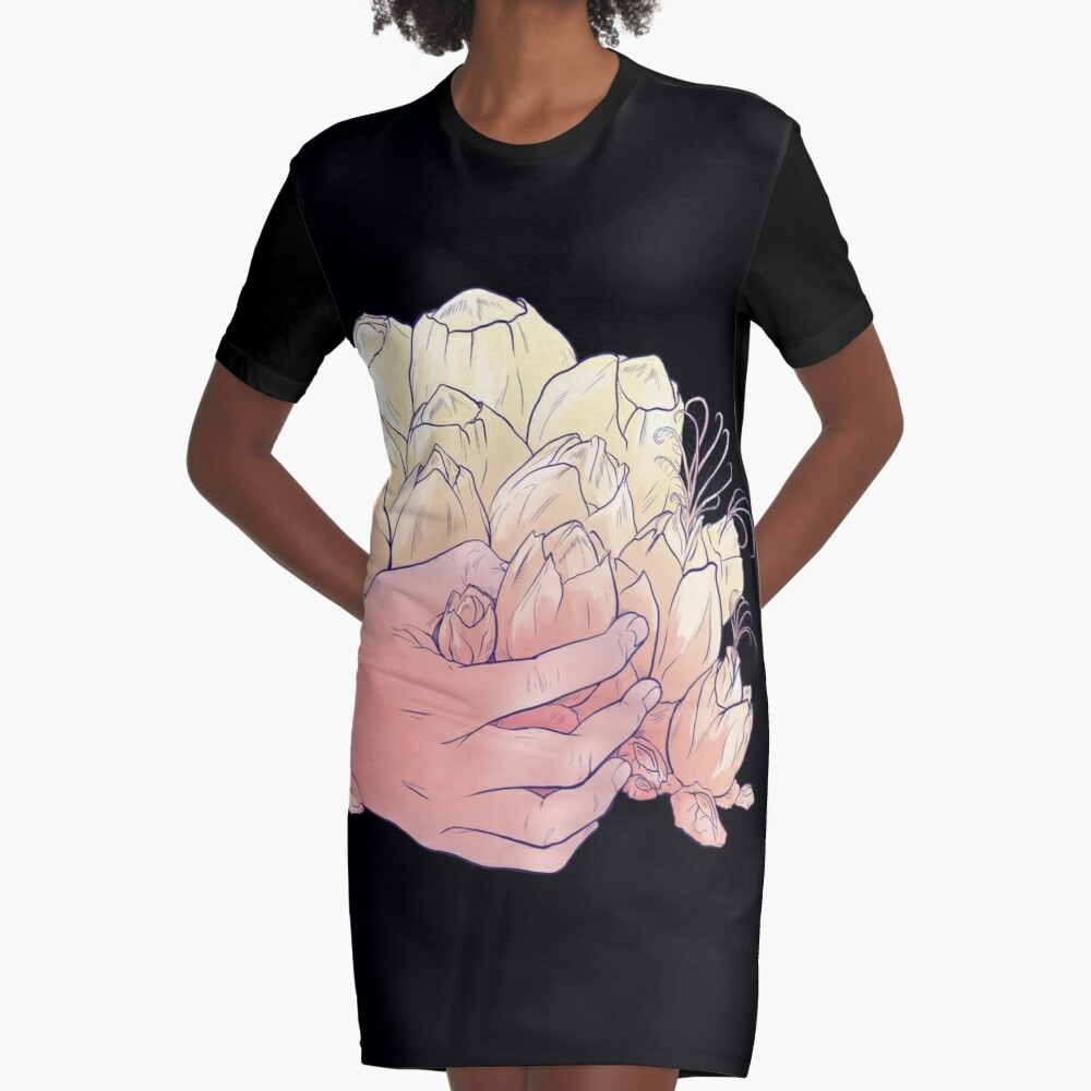 Hold Tight Graphic T-Shirt Dress
