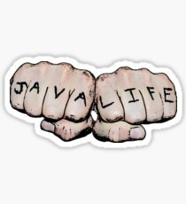 JAVA LIFE Sticker