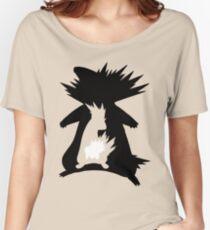 Cyndaquil Evolution T-Shirt Women's Relaxed Fit T-Shirt