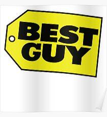Best Guy - Best Buy Spoof Logo Poster