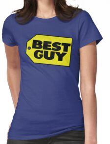 Best Guy - Best Buy Spoof Logo Womens Fitted T-Shirt