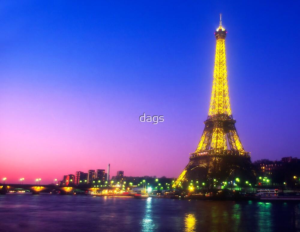 Paris Sunset by dags