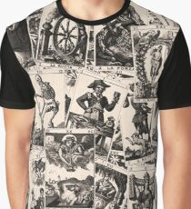 Tarot cards pattern Graphic T-Shirt