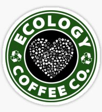 Ecology Coffee Co. Sticker