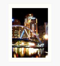 Southgate bridge Art Print