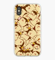 King Pudding Party iPhone Case