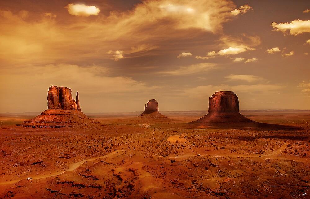 Earth's edge by Paul Vanzella