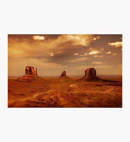 Earth's edge Photographic Print