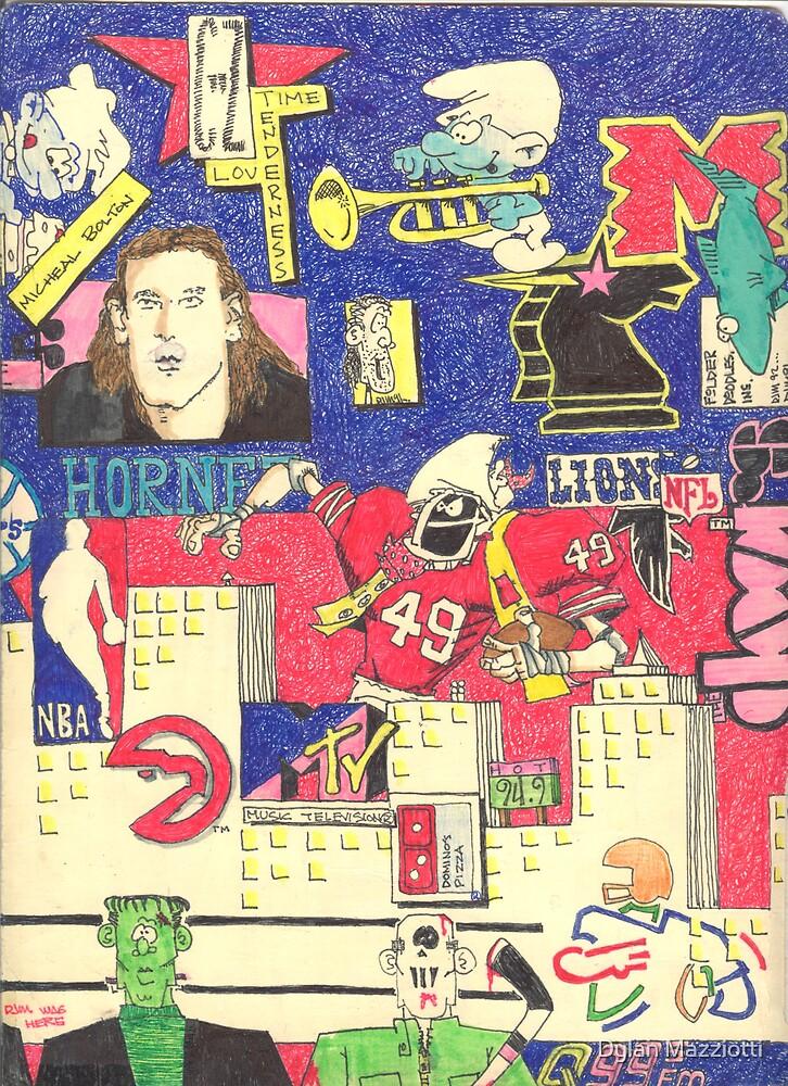 Folder 005 - Inside Right by Dylan Mazziotti