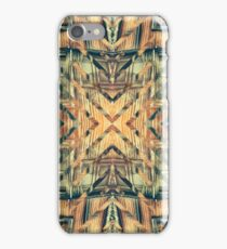 Geometric Rusty Grungy Abandoned Building Exterior iPhone Case/Skin