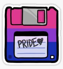 Bi Pride Floppy Sticker