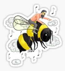 Flight of the Bumblebee by Nicolai Rimsky-Korsakov Sticker