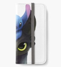 Stitch And Toothless iPhone Wallet