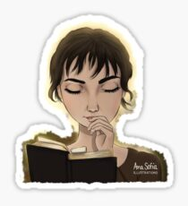 Lizzy Bennet Sticker