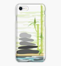 Feng shui meditation iPhone Case/Skin
