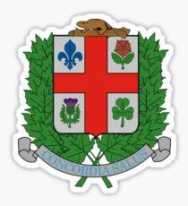 Montréal coat of arms Sticker