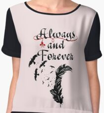 Klaus.The Originals. Always and Forever. Chiffon Top