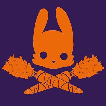 Bunny Jolly Roger by ElinoreG